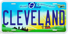 Cleveland Ohio Novelty Car License Plate