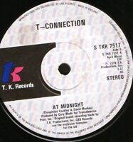 """T-CONNECTION at midnight bw playin' games 7"""" WS EX/ uk tk S TKR 7517"""