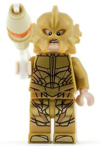 GENUINE Lego DC Super Heroes ATLANTEAN GUARD - ANGRY FACE Minifigure split 76085