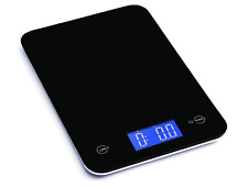 5KG White Class Digital LCD Electronic Kitchen Cooking Food Weighing Scales UK