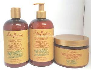 Shea Moisture Manuka Honey & Mafura Oil | Shampoo & Conditoner  & Masque | RANGE
