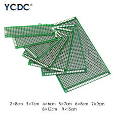 510pcs Pcb Printed Circuit Board Prototype Strip Breadboard For Diy Project