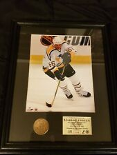 "Mario Lemieux ""The Return"" Penguins HM Coin Framed 12""x 15"" Limited."