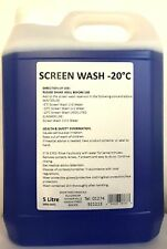Winter USE - Arctic Screen-Wash 5 Litre Super Concentrated  -20 degrees