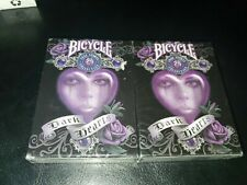 Bicycle Anne Stokes Collection Dark Hearts Playing Cards - 2 decks