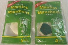 (2) 4 PKS (8)  CLIP-ON MANTLES, UNIVERSAL FIT 1-2 MANTLE LIQUID/PROPANE LANTERNS