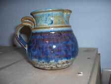 """Vintage Pottery - Small Pitcher, 3 3/4"""" High, Has POPE etched on Bottom"""