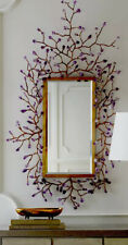 John-Richard Collection. Budding Amethyst Mirror
