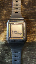 "Vintage ""Back to the Future II"" Promotional Watch, Extremely Rare, Original 1989"