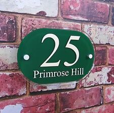 Modern Designer House Sign/Plaque Street Address Office Business Number Acrylic
