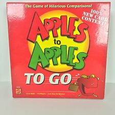 Apples To Apples To Go 100% Complete!