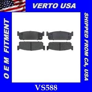 Rear Brake Pads For Infiniti  J30, M45, Q45 Base on Fitment Chart  VS588