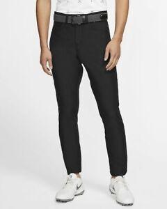 Nike Men's Flex Slim Fit 6 Pocket Golf Pants Dri-fit 35 x 32 BV0278-010 Black