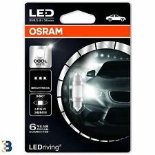 Osram Festoon Cold White 36mm C5W 239 12V LEDriving Interior lighting 6498CW-01B