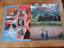 Remember Reminisce Magazines Lot 1992 1996 2004 Train Audrey Hepburn