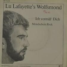 """LU LAFAYETTE`S LUNA DEL LUPO IO MISS DI RILEVAMENTO MONDSCHEIN ROCK Singola 7"""" I"""
