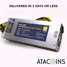 110v-240v ASIC APW3++ PSU Mining Power Supply Fit BITMAIN Antminer S9 S7 L3+ USA