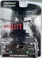 CHASE Ford Mustang GT Steve McQueen Bullitt model road car GREEN wheels 1:64th