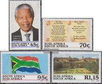 Südafrika 926-929 (kompl.Ausg.) gestempelt 1994 Präsident Mandela