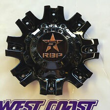RBP Rolling Big Power 94R BLACK RIM Wheel Replacement Center Cap PART# 369S01