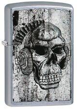 Lighter Zippo Rick Rietveld Skull Headphone