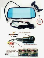 Cámara De Marcha Atrás De Aparcamiento 7 pulgadas Monitor retrovisor Para Ford Transit