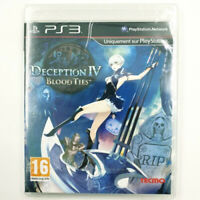 Deception IV Blood Ties - Jeu PS3 - Neuf sous blister - PAL FR