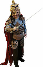 Halloween ARMY OF DARKNESS EVIL ASH ZOMBIE KING Men Adult Costume Haunted House