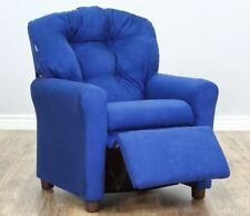 Kid Recliner Chair For Boys Sofa Lounge Toddlers Girls Armchair Furniture Blue