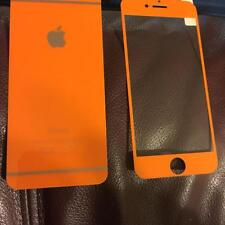COLORFUL Front + Back Tempered Glass iPhone 4 5 6 S 7 Plus Screen Protector Thin