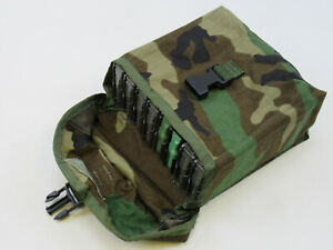 NEW 8 Magazine Pouch Large Utility Pouch WOODLAND MOLLE - FITS 8 MAGAZINES