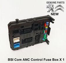 Peugeot 3008 308 407 5008 Partner Tepee RCZ ANC BSI Fuse Box Module 9678476980