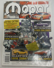Mopar Magazine 6-Pack Challenger Slant Six January 2005 061215R