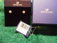 37b47a194 NEW Swarovski EMMA Pierced Earrings ROSE GOLD PLATED 5225982 CRY/ROS JTY