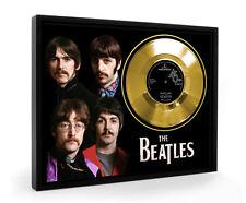 Beatles Penny Lane Framed Gold Disc Record Vinyl (C1)