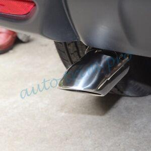 Tail Exhaust Rear Muffler Tip Pipe Cover For Nissan X-Trail Qashqai Ford Focus