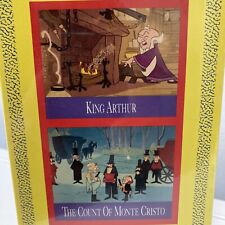 Mr. Magoo's Literary Classics King Arthur The Count Of Monte Cristo Sealed Vhs