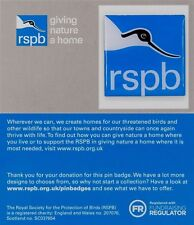 RSPB Pin Badge | RSPB logo lapel badge | RSPB logo on GNaH card [01350]