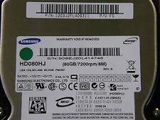 80 GB Samsung HD080HJ / P80SD / P/N: 1203J2FL409311 P/V FS / 2006.04  Hard Disk