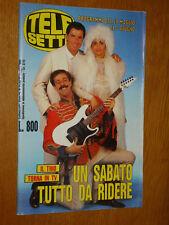 TELESETTE 1989/22=TRIO ANNA MARCHESINI TULLIO SOLENGHI MASSIMO LOPEZ COPERTINA=
