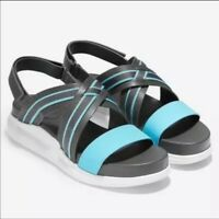 Cole Haan 2.ZeroGrand Criss Cross Leather Sandals 2.0Grand 2.0 Women's Size 9