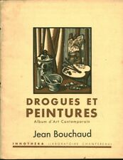 Livret publicitaire pharmaceutique ancien drogues et peintures Jean Bouchaud