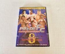 PRIDE FC Fighting Championships #8 MMA Mixed Martial Arts DVD NEW Gracie Silva +