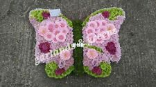 Butterfly funeral flowers,wreath fresh flowers free delivery in  tilbury , grays
