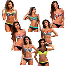 Paradise Bikini mit Push-up-Effekt Badeanzug Mehrfarbig Bathing