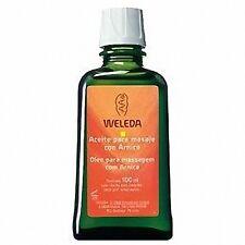 Weleda aceite para masaje con arnica 100 ml 170852 Monovarsalud
