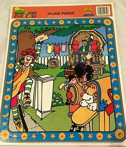 1995 The Big Comfy Couch Tray Puzzle   Mailing a Letter