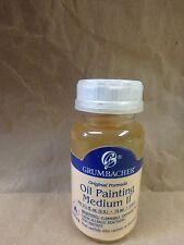 GRUMBACHER OIL PAINTING MEDIUM II 74 ML. 022351