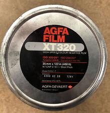 Agfa Film Xt 320 400' Bulk Film 35mm