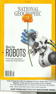 NATIONAL GEOGRAPHIC MAGAZINE,  MEET THE ROBOTS    SEPTEMBER, 2020